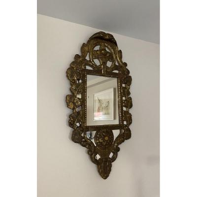 Regency Pareclose Mirror XVIII Eme Century