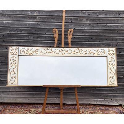 Miroir De Style Art Déco A Encadrement