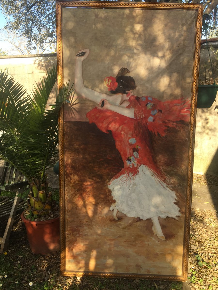 Oil The Flamenco Dancer