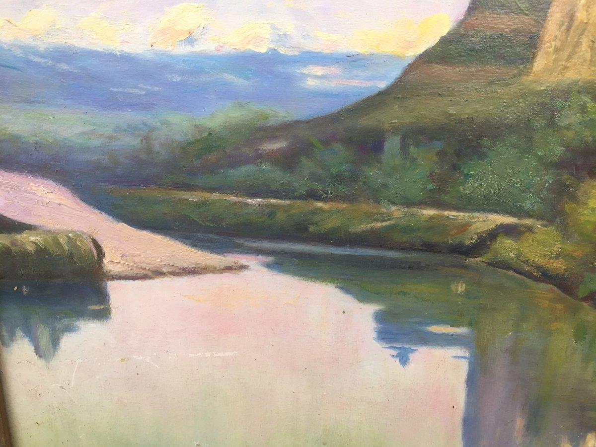 Paysage à La Rivière De Dordogne -photo-1