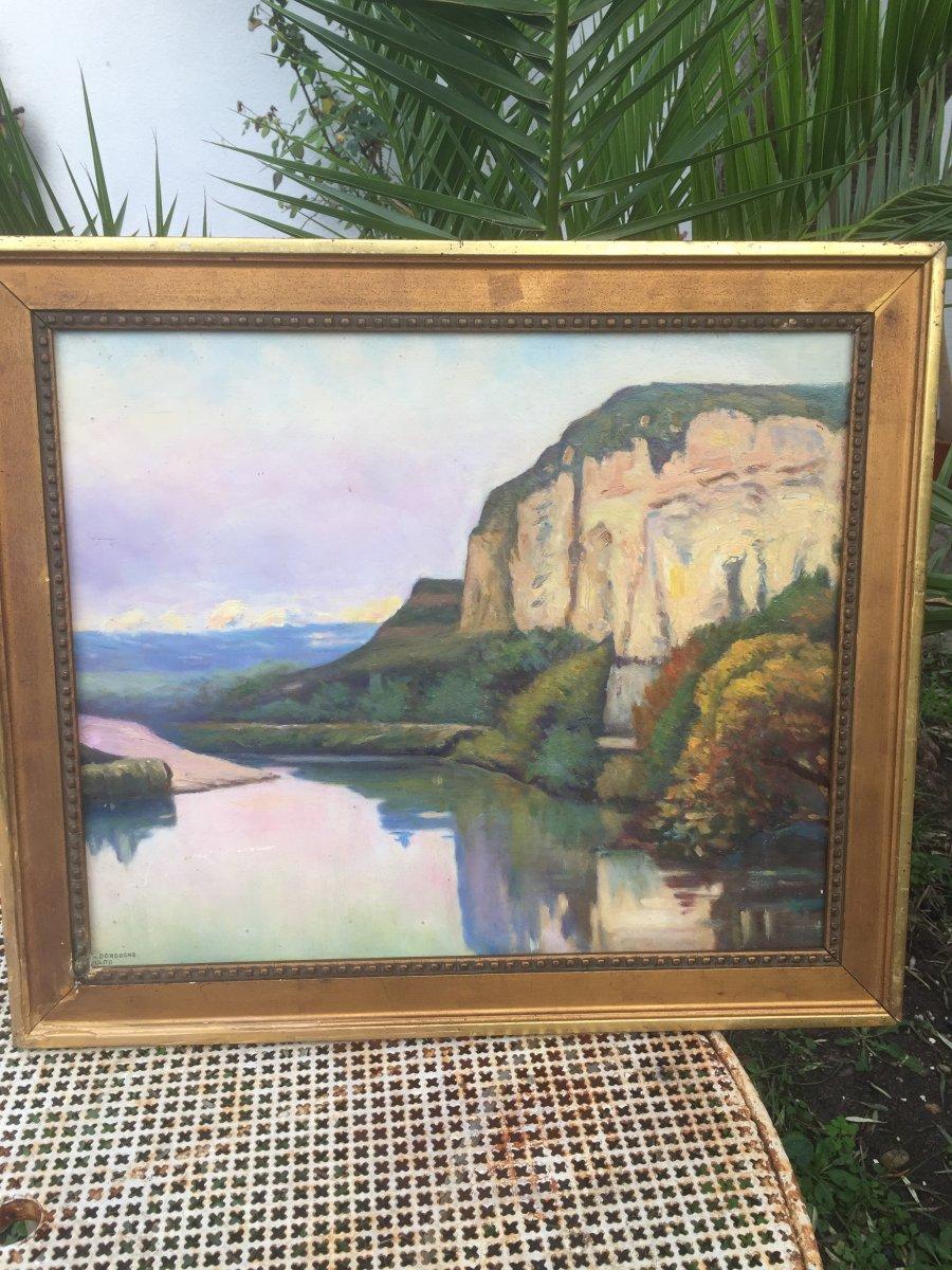 Paysage à La Rivière De Dordogne