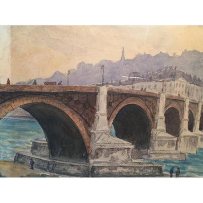 Cornollier Watercolor Lyonnais Quarter