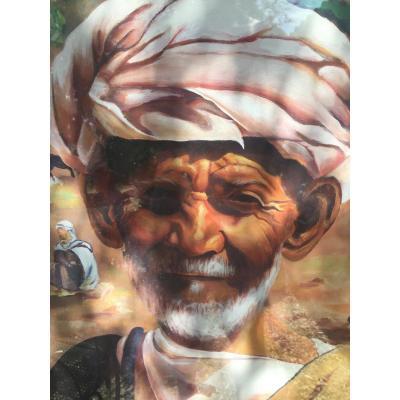 Portrait Oriental au turban