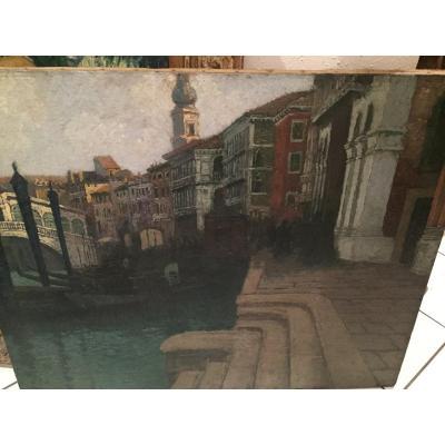 Le Grand Canal à Venise De Pierre Labrouche