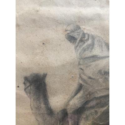 XIXth Orientalist Drawing