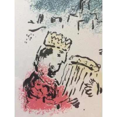 Lithographie Originale De Marc Chagall
