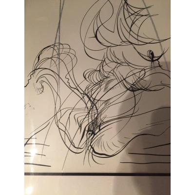 Lithographie De Raymond Moretti
