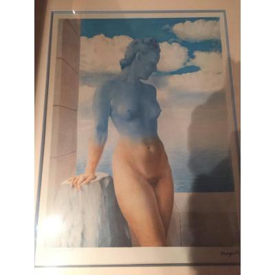 Lithographie De Georgette Magritte