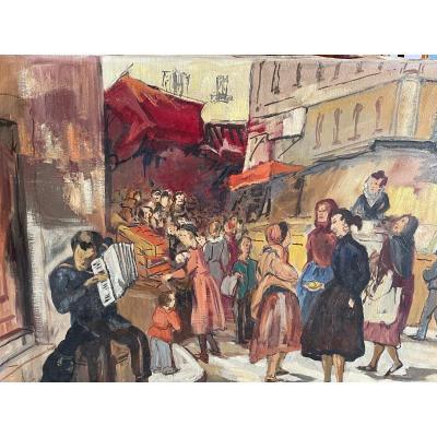 Scène De Marché De Bizet Andrée