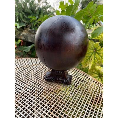 18th Century Wood Stair Ball