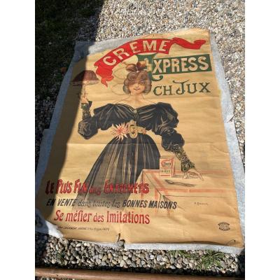 Chapellier Cream Express Ch.jux Poster