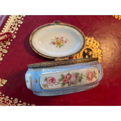 Boîte Porcelaine F.MLimoges