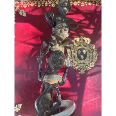 Borneo Bronze Sculpture