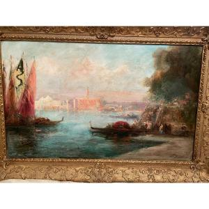 Venise et ses gondoliers de P. Gillini