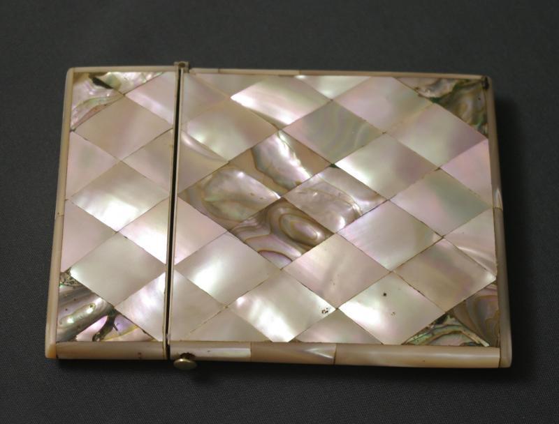 étui à tablettes Carnet De Bal 19ème Nacre -photo-4