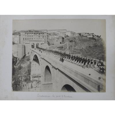 Lot De 16 Photographies 1880 Constantine Algérie Neurdein Nd Photo