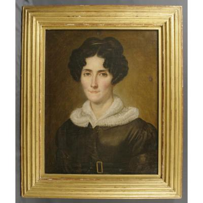 Restoration Period Portrait (circa 1830)