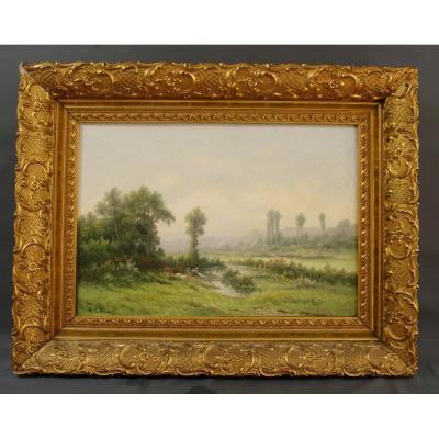 19th Landscape Painting R. T. Stuart