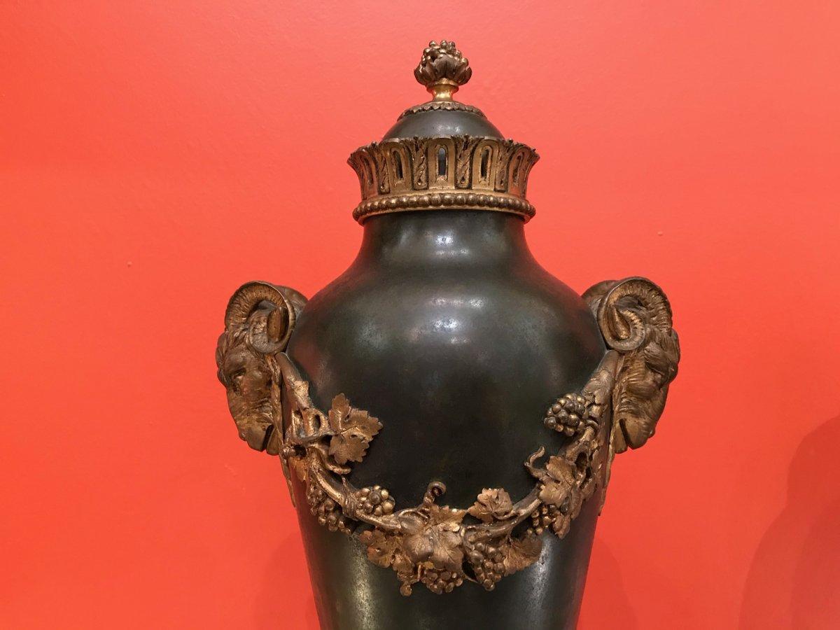 Pair Of Amphora - Louis XVI Style-photo-3
