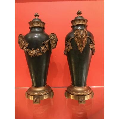 Paire d'Amphore - Style Louis XVI