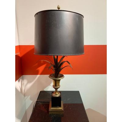 Pair Of Reed Lamps - Maison Charles
