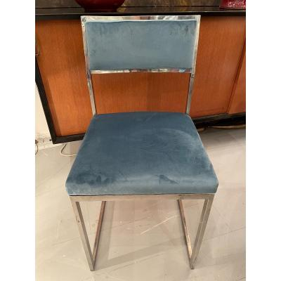 6 Chrome Chairs 70
