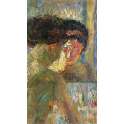 """""""jeune Femme à La Toilette"""" - Auguste Durel"""