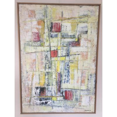Maurice Duhazé, Abstract Painting