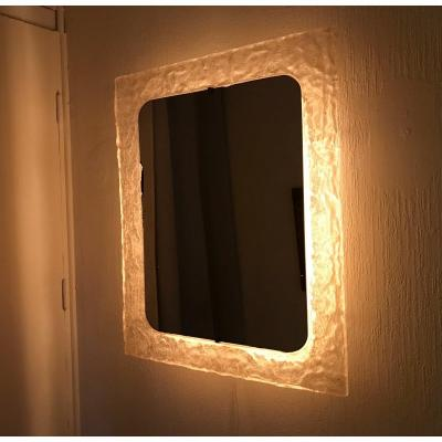 Illuminated Resin Mirror, Erco, Circa 1960/70