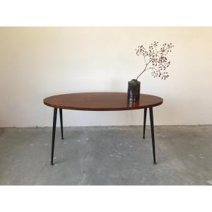 Teak Coffee Table, France, 1950s.