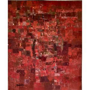 Composition Abstraite, Circa 1950.