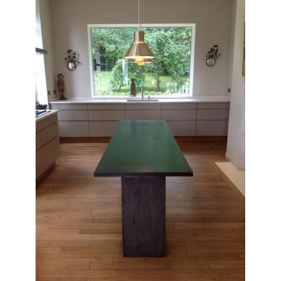 Dining Table In Oak Blackened
