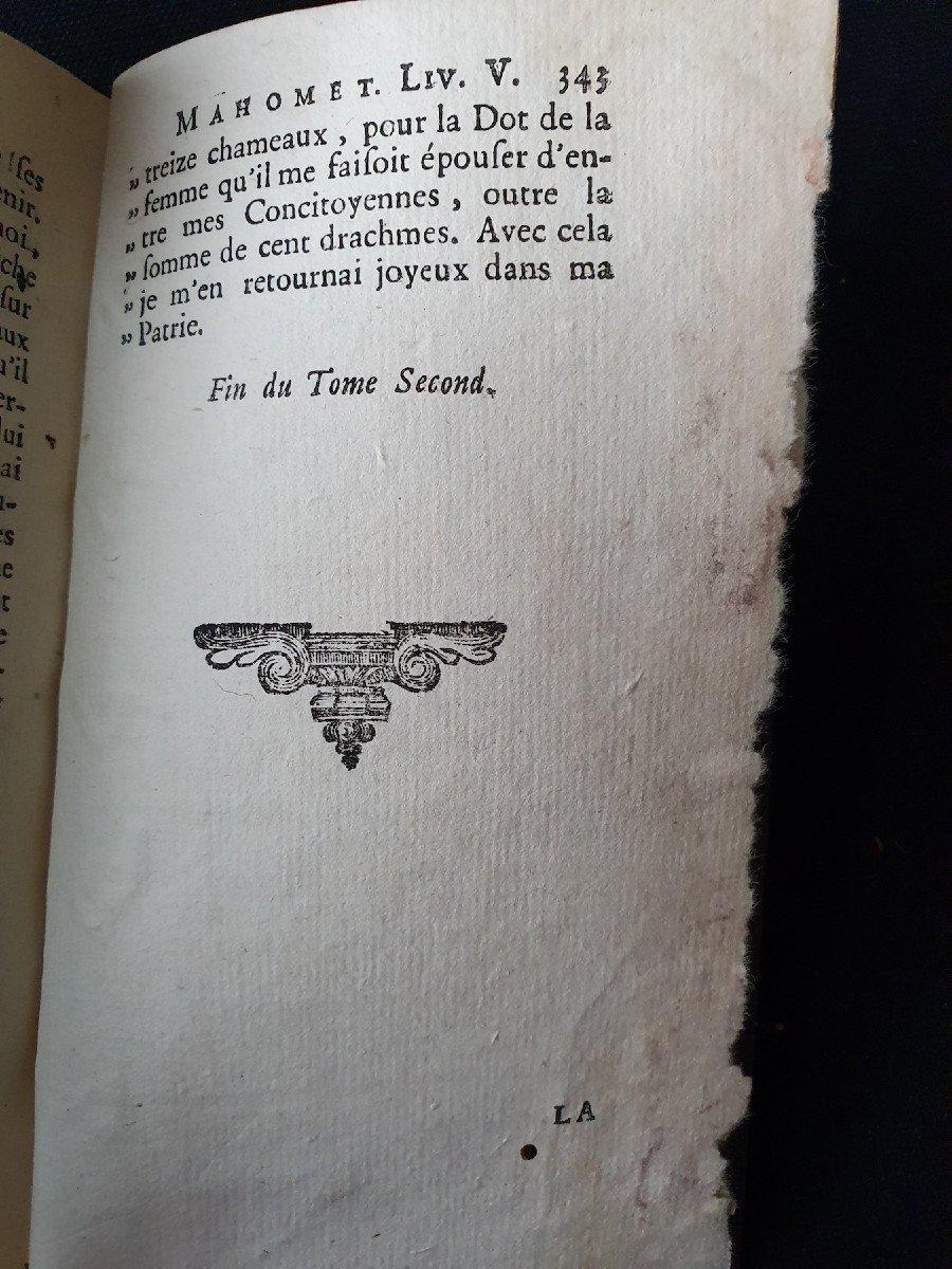 "Jean Gagnier, ""la vie de Mahomet"", Amsterdam, Wetsteins & Smith, 1748.-photo-3"