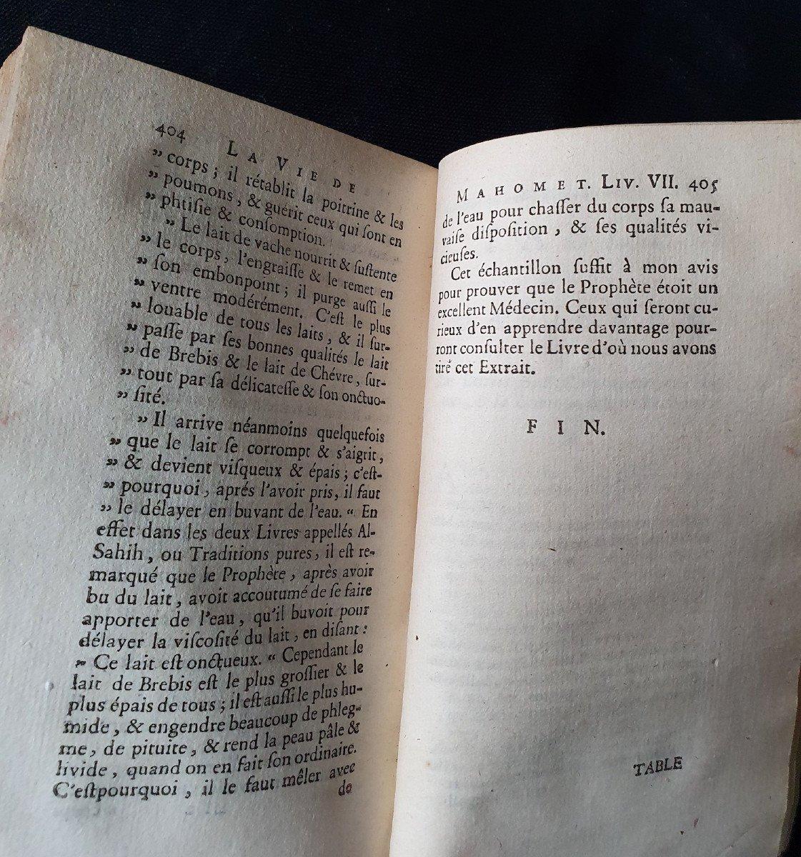"Jean Gagnier, ""la vie de Mahomet"", Amsterdam, Wetsteins & Smith, 1748.-photo-1"