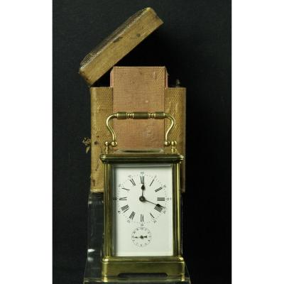 Clock Officer Bronze In His Box.