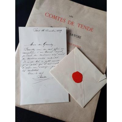 Les Comtes De Tende De La Maison De Savoie Par Le Comte De Panisse-passis, Paris, Firmin-didot