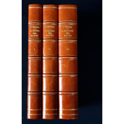 Joseph Perreau, Epic Des Alpes, Berger-levrault 1903_1912