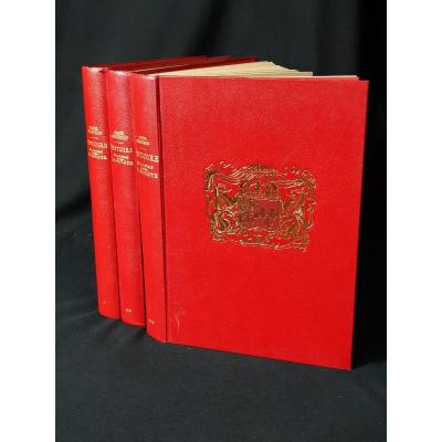 Guichenon, 1660, Histoire Généalogique De La Royale Maison De Savoye, Réed. Horvath-roanne 1977
