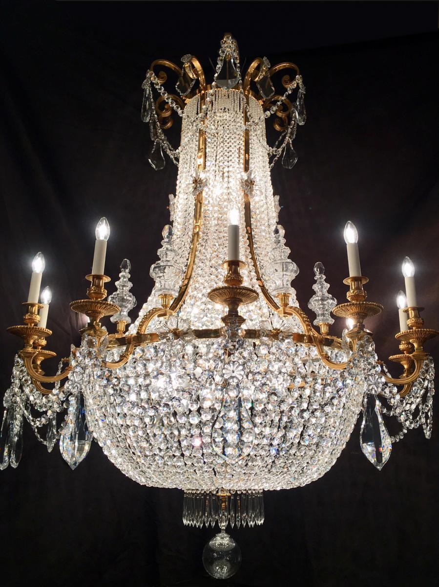 Very Large Montgolfier Chandelier