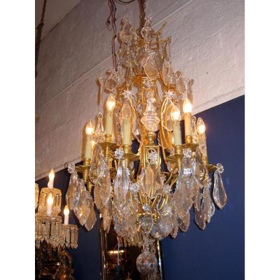 Cage Chandelier Classic 19th