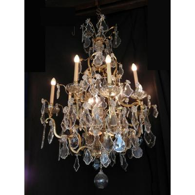Cage Classic Chandelier Early 20th