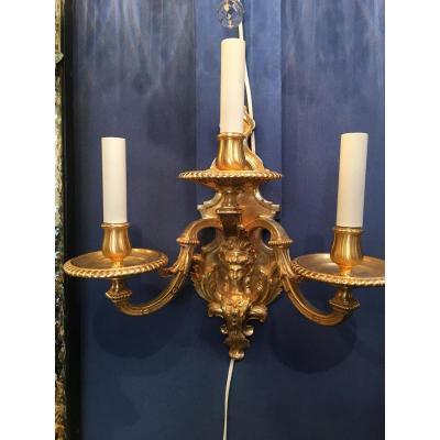 Paire Appliques De Style Mazarin 19ème