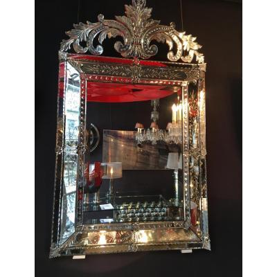 Miroir ancien sur proantic for Miroir ancien le bon coin