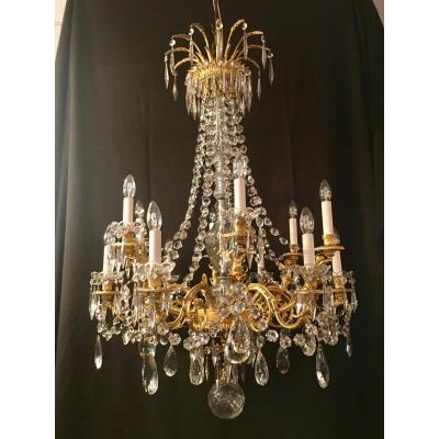 Chandelier With Winged Angels