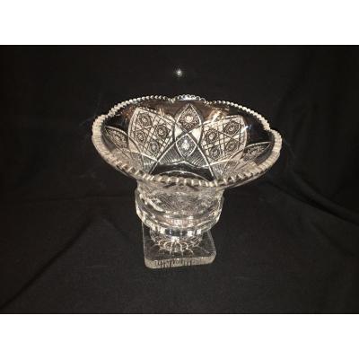 Vase Cristal Taillé