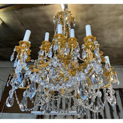 Lustre ancien De Style Louis XV