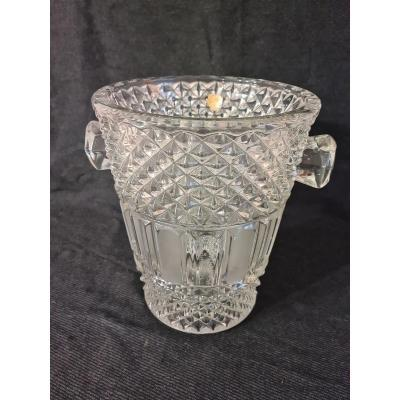 Bohemian Crystal Champagne Bucket