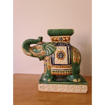 Vase En Faïence Emaillée