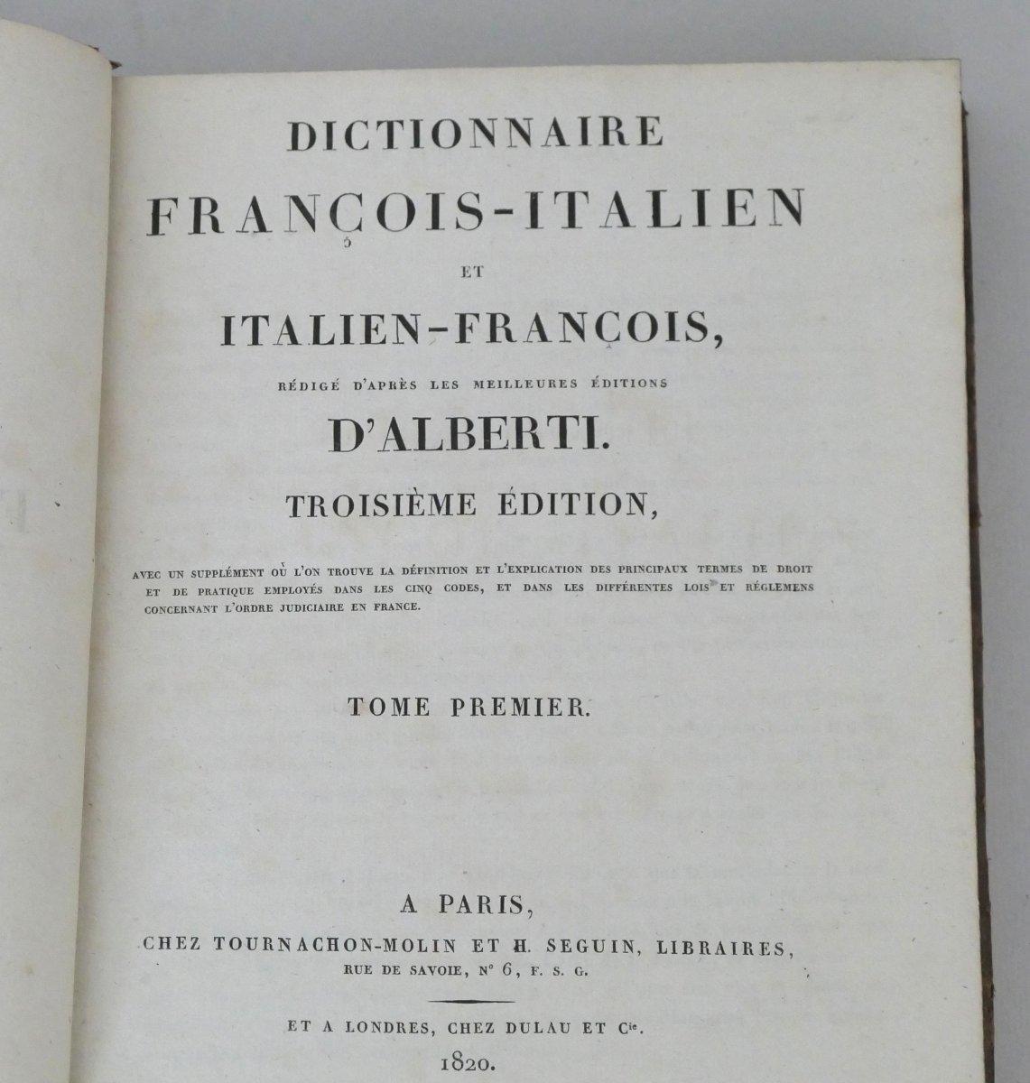 French-italian / Italian French Dictionaries-photo-2