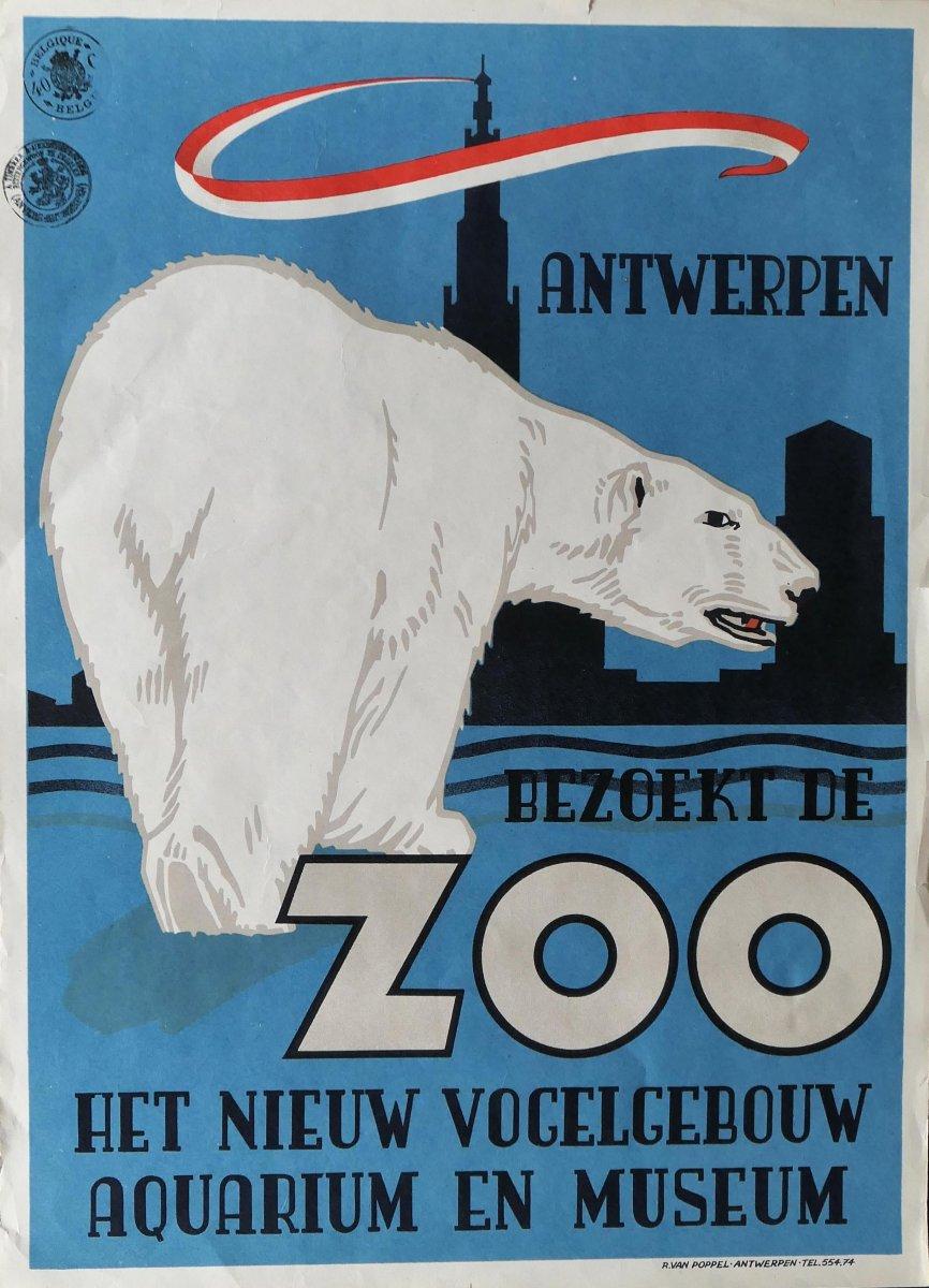 Affiche - Zoo d'Anvers